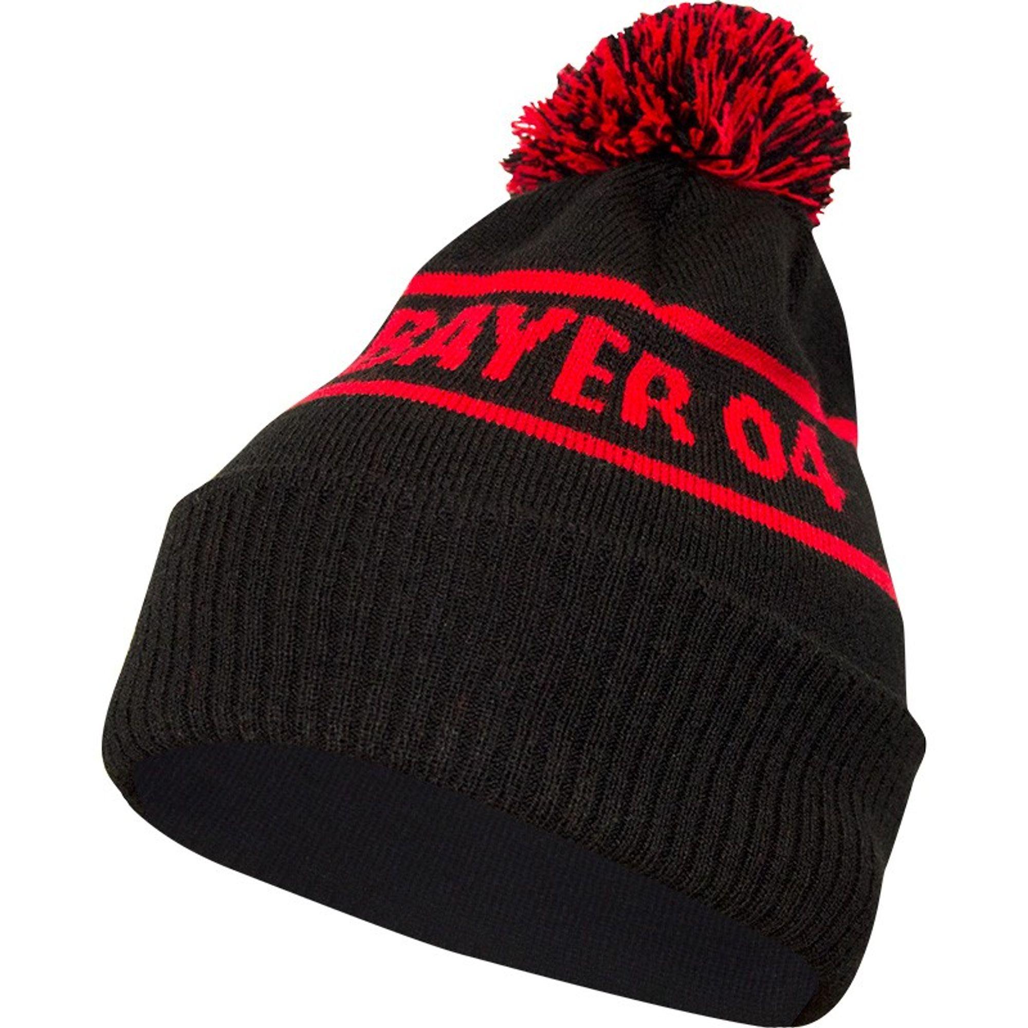 Jako Bayer 04 Leverkusen Bommelmütze - schwarz