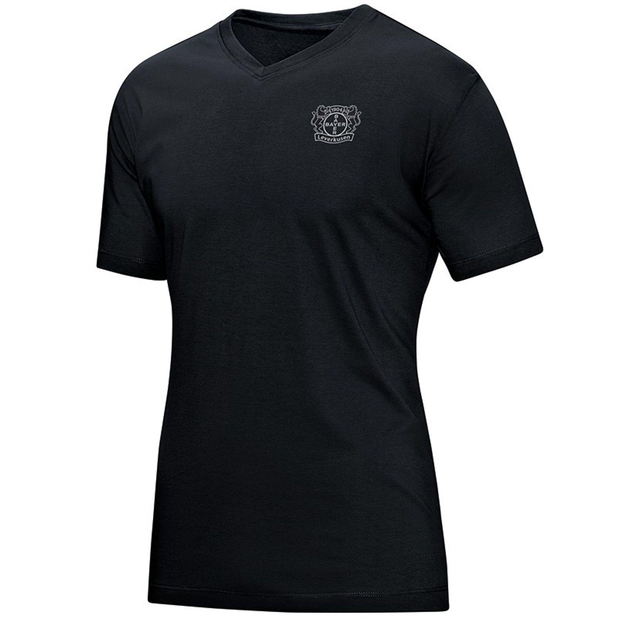 Jako Bayer 04 Leverkusen T- Shirt Premium - schwarz