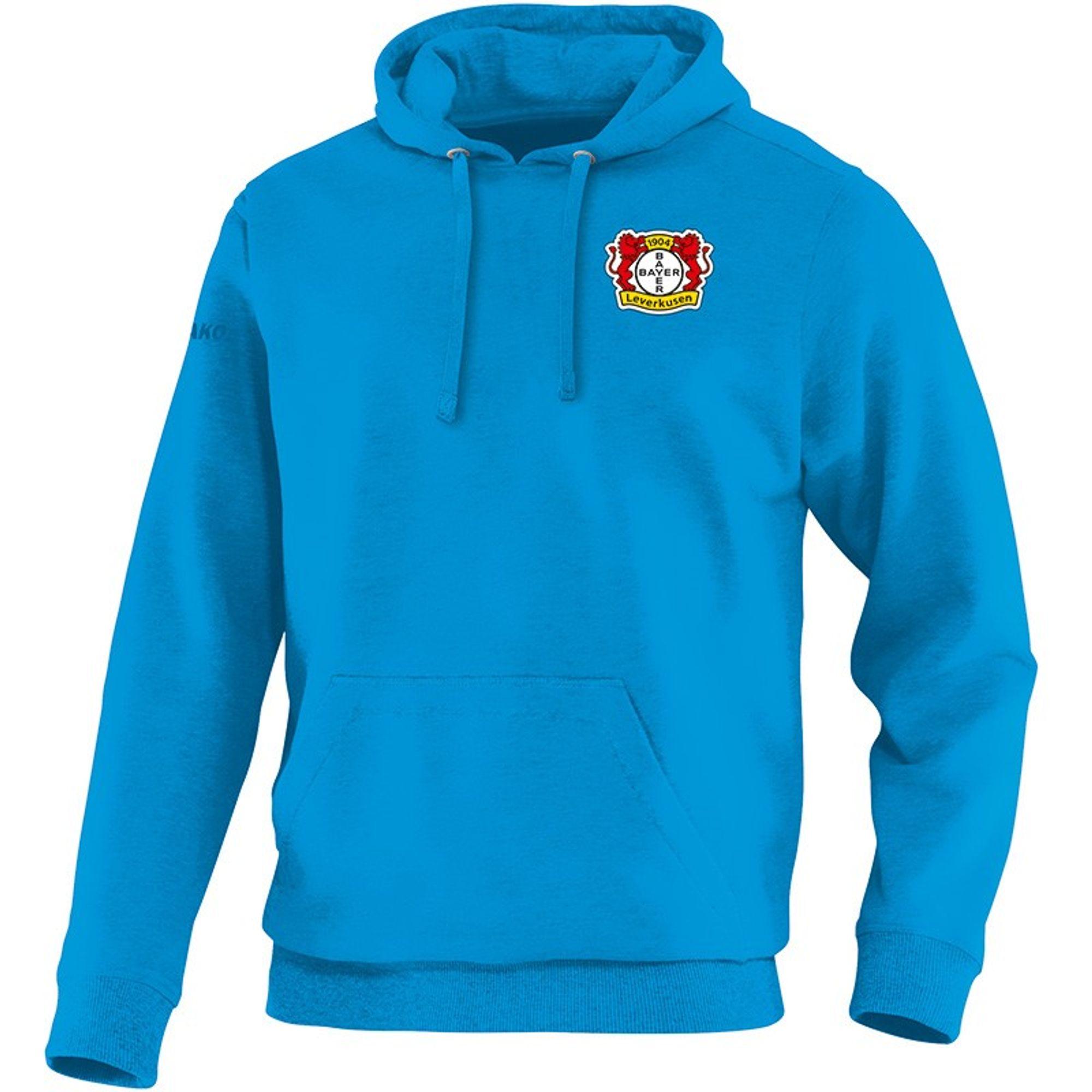 Jako Bayer 04 Leverkusen Kapuzensweat Team - blau