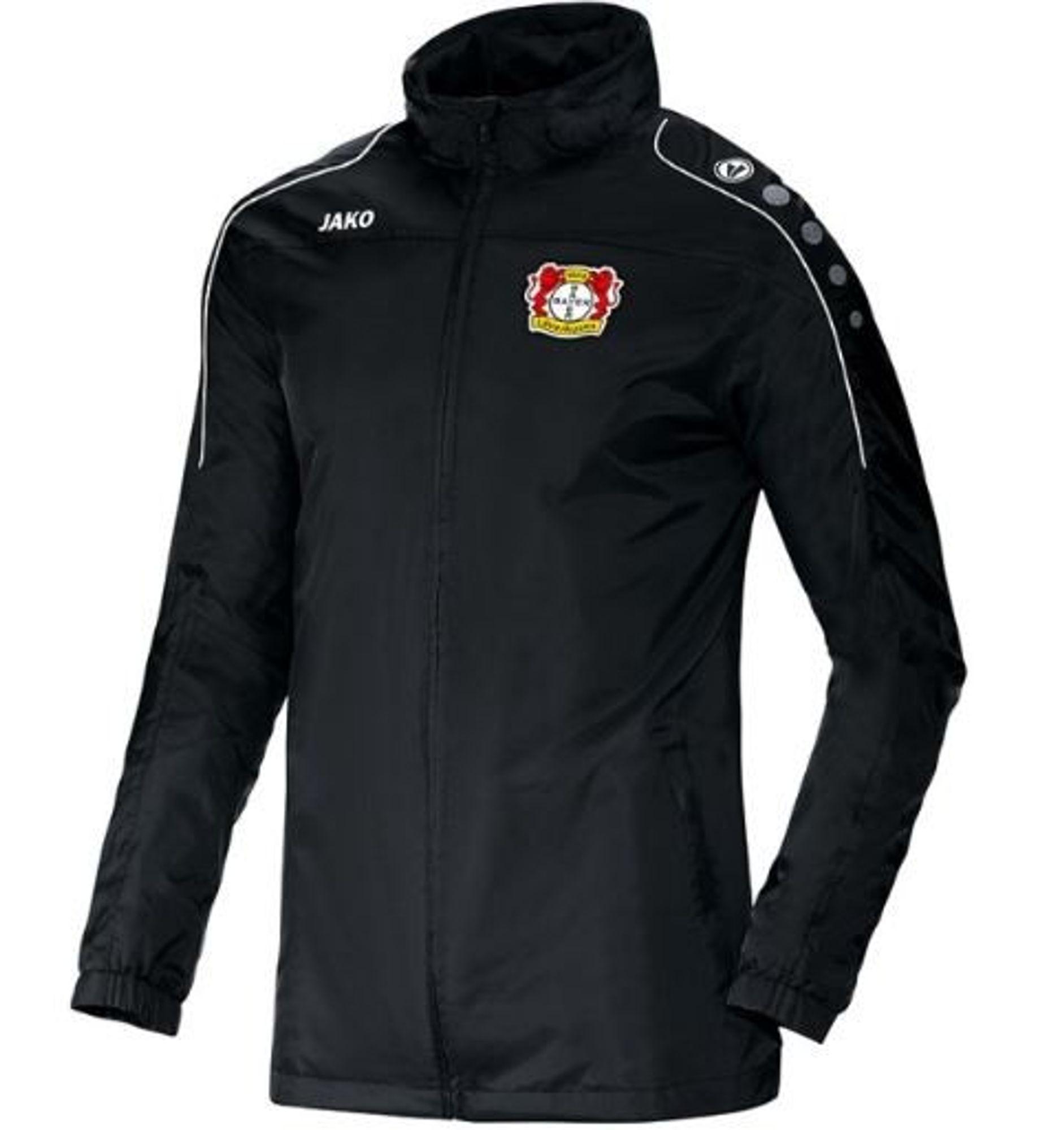 Jako Bayer 04 Leverkusen Allwetterjacke Team - schwarz