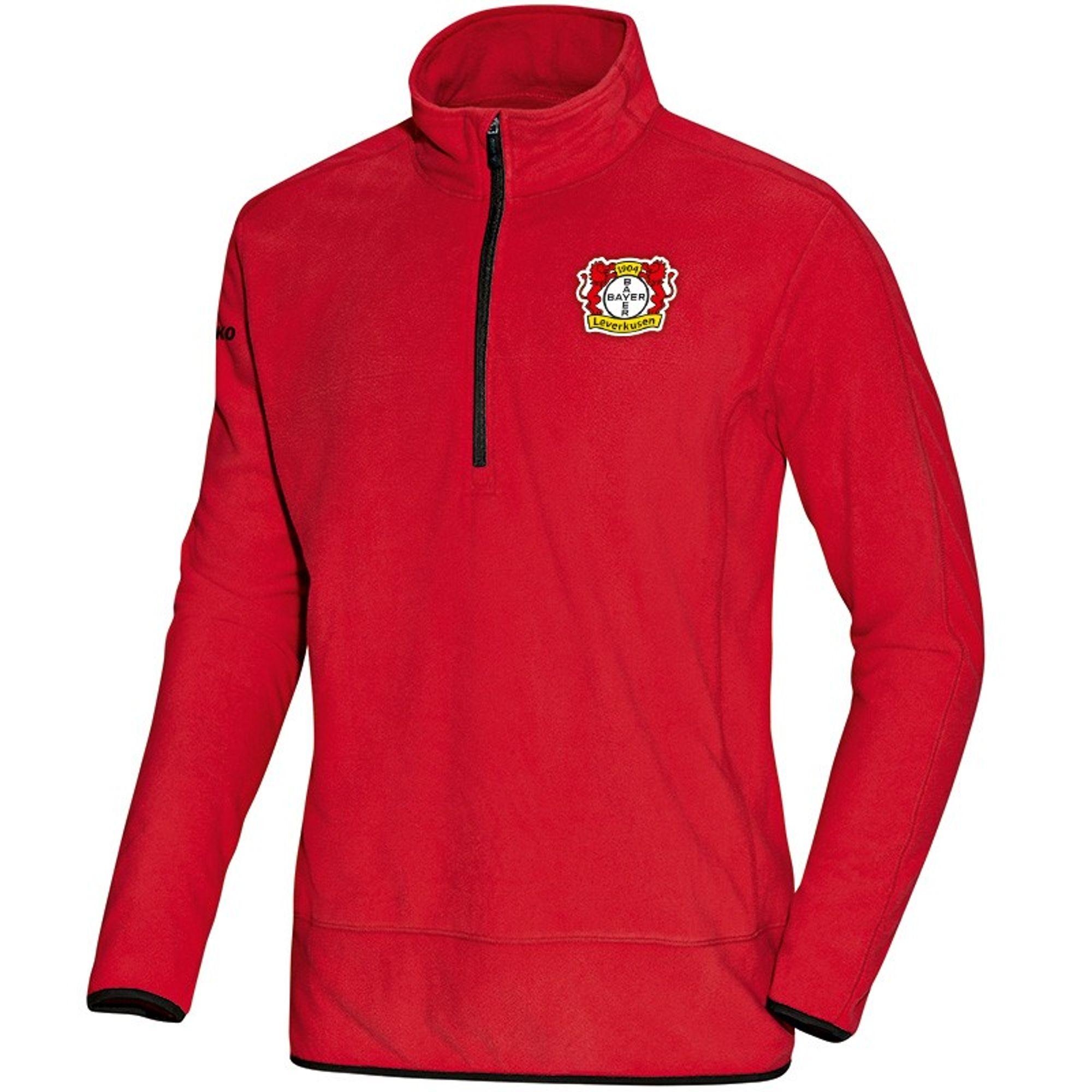 Jako Bayer 04 Leverkusen Fleece Ziptop Team - rot