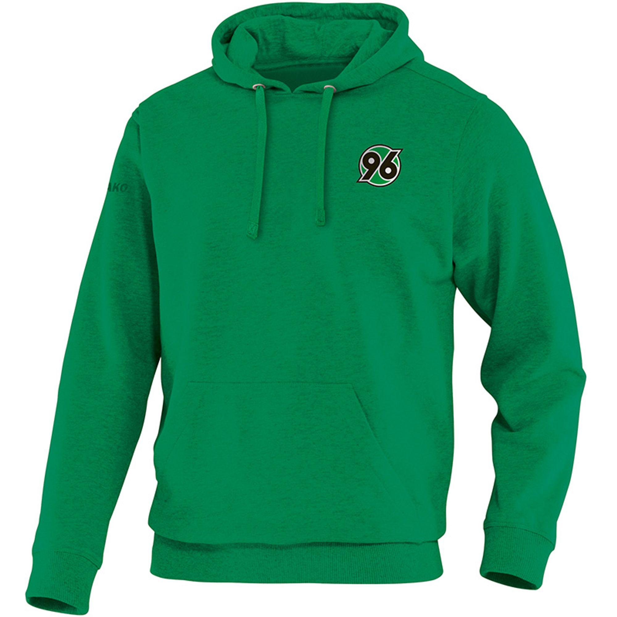 Jako Hannover 96 Kapuzensweat Team - sportgrün