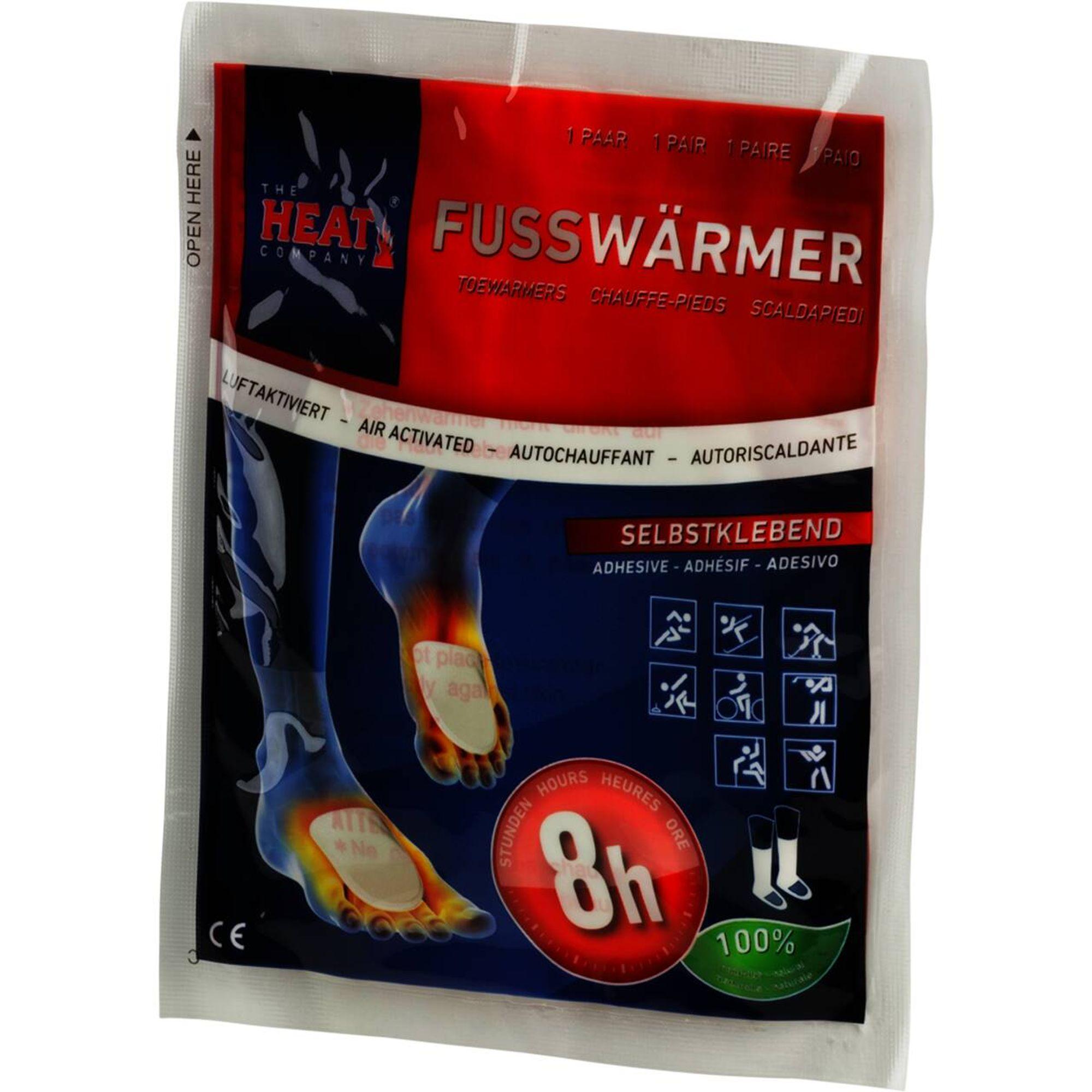 The Heat Company Fußwärmer 3Er Pack - neutral