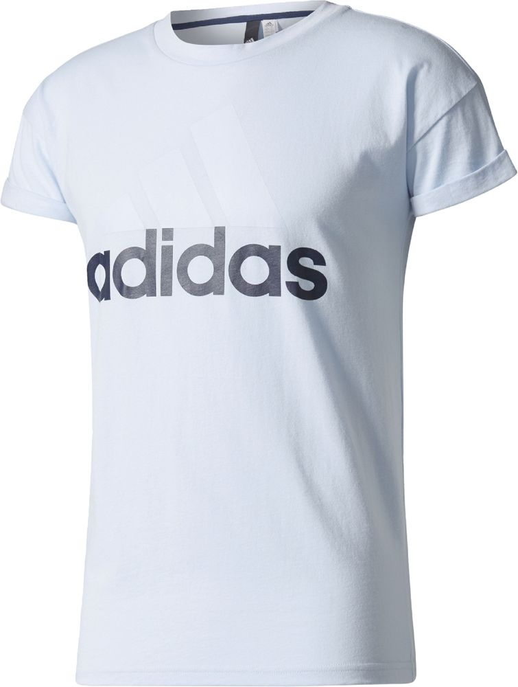 adidas Damen Essentials Linear Loose T-Shirt