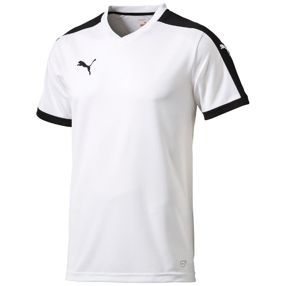 Puma Pitch Shortsleeved Shirt - white-black