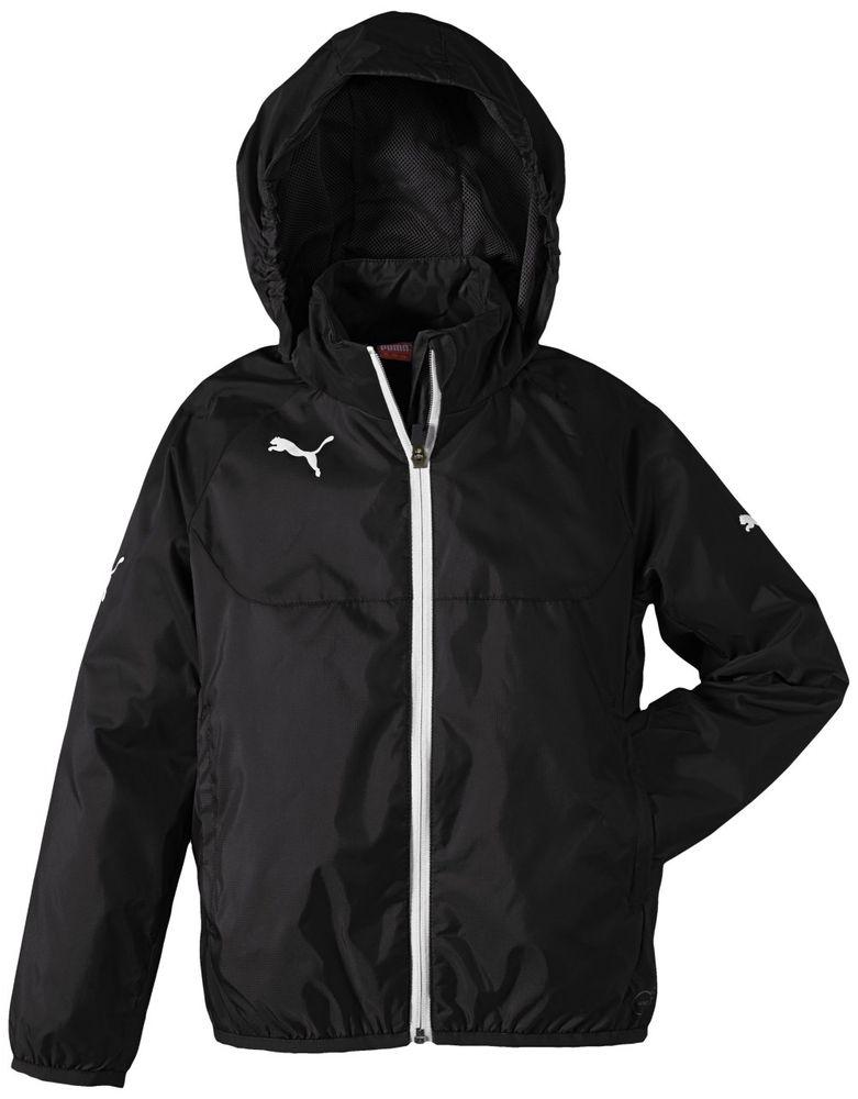 Puma Rain Jacket - black-white