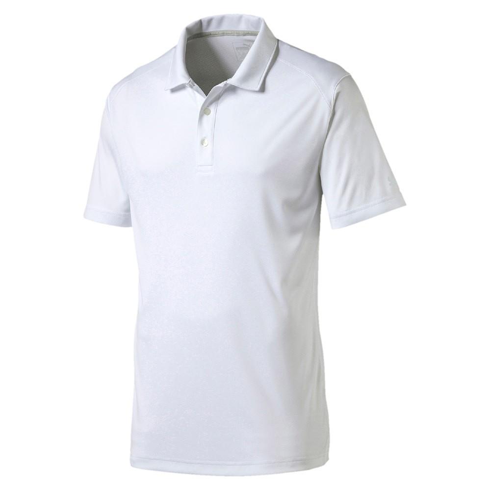 Puma ESS Pounce Polo - Cresting - bright white