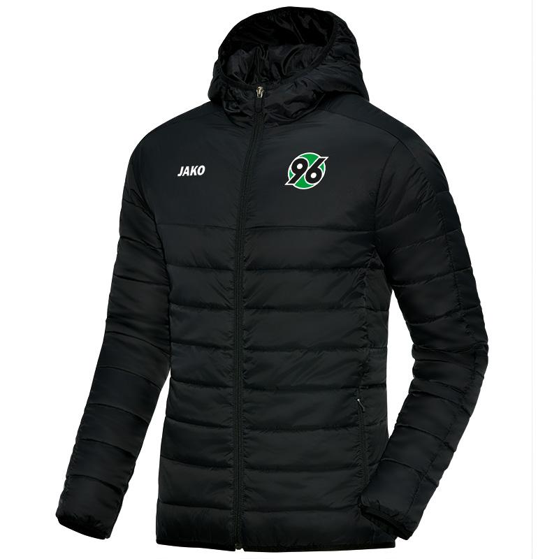 Jako Hannover 96 Steppjacke - schwarz