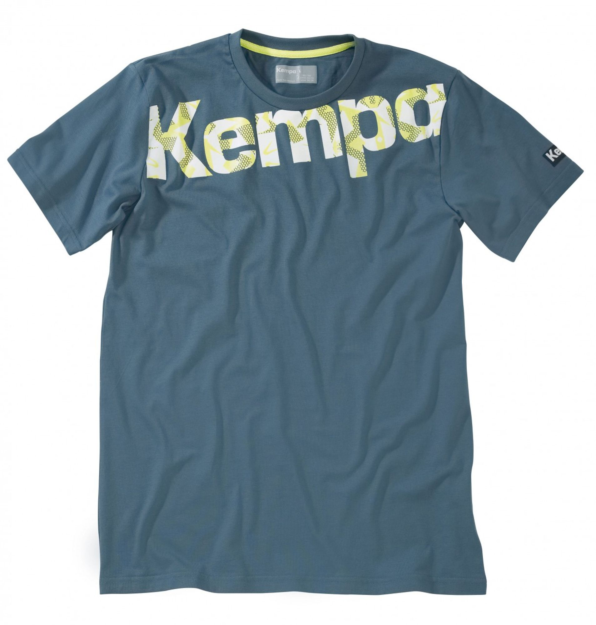 Kempa Core Graphic T-Shirt - petrol