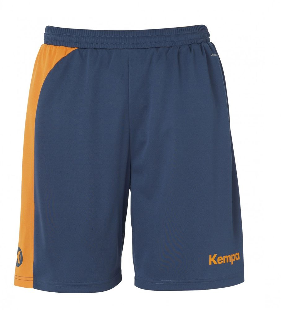 Kempa Peak Shorts - petrol/orange