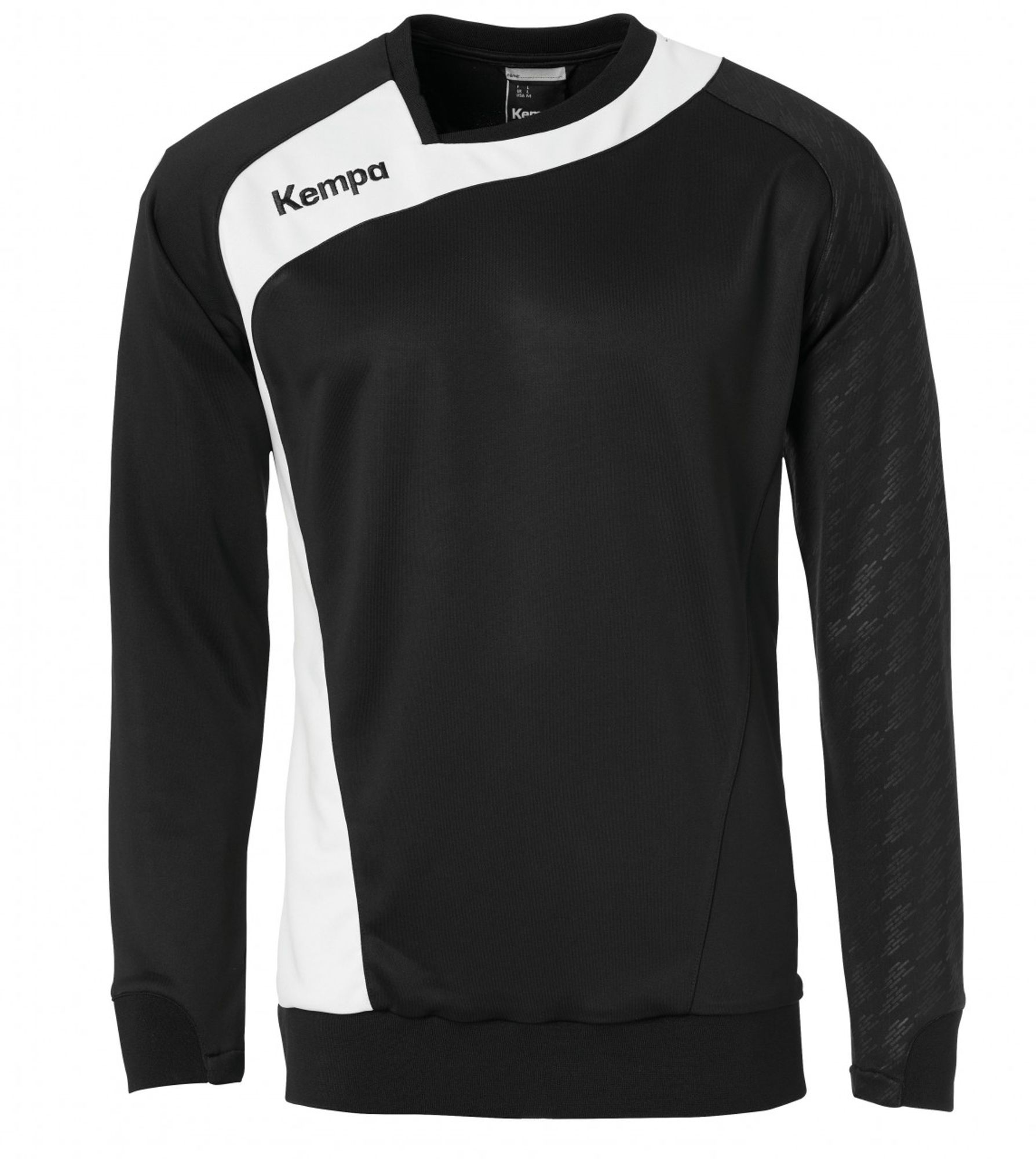 Kempa PEAK TRAINING TOP - schwarz/weiß