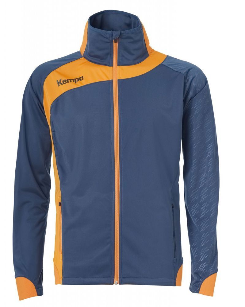 Kempa PEAK MULTI JACKE - petrol/orange