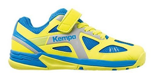 Kempa WING JUNIOR - ash blau/spring gelb