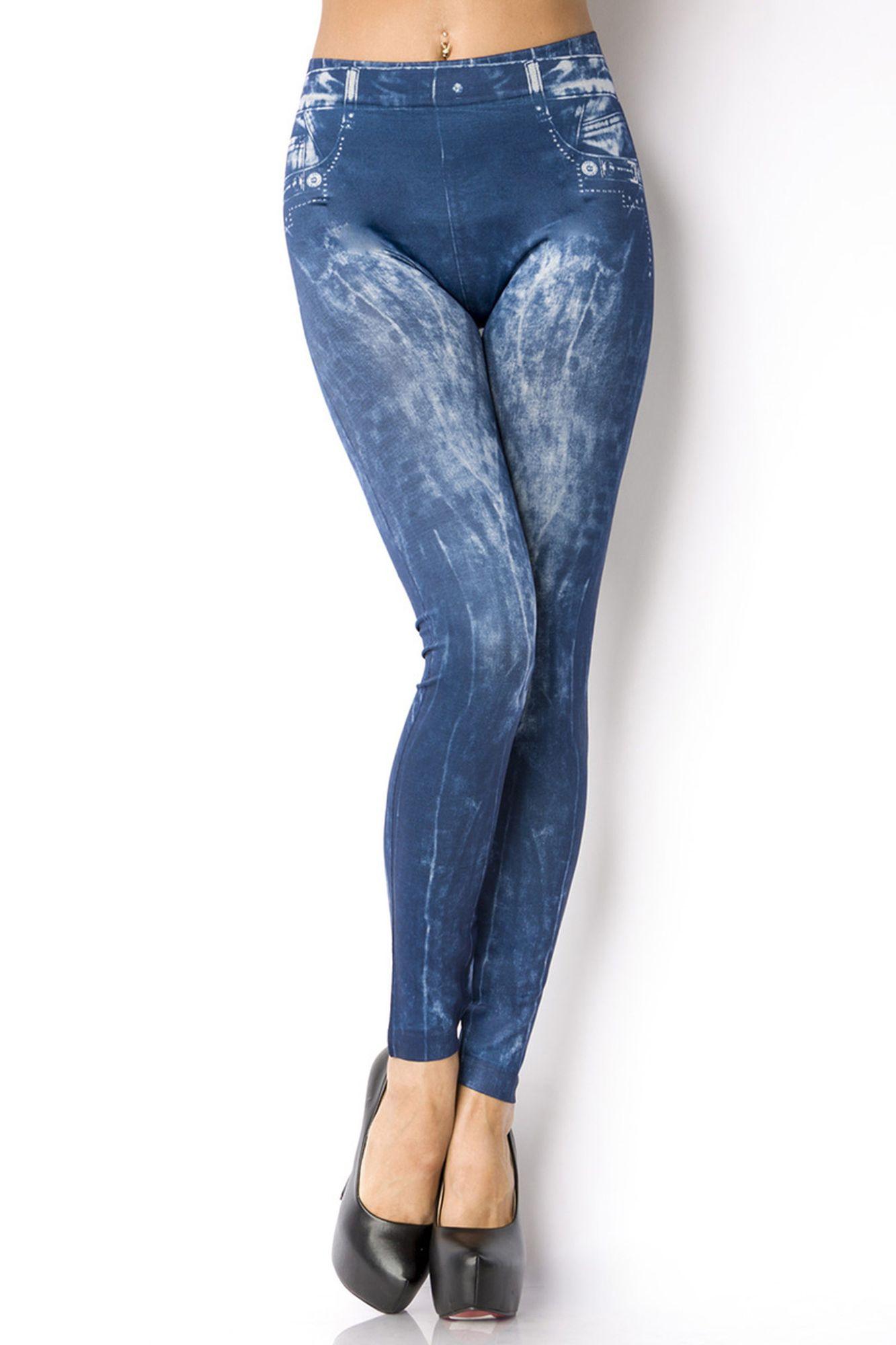 Atixo Leggings - blau