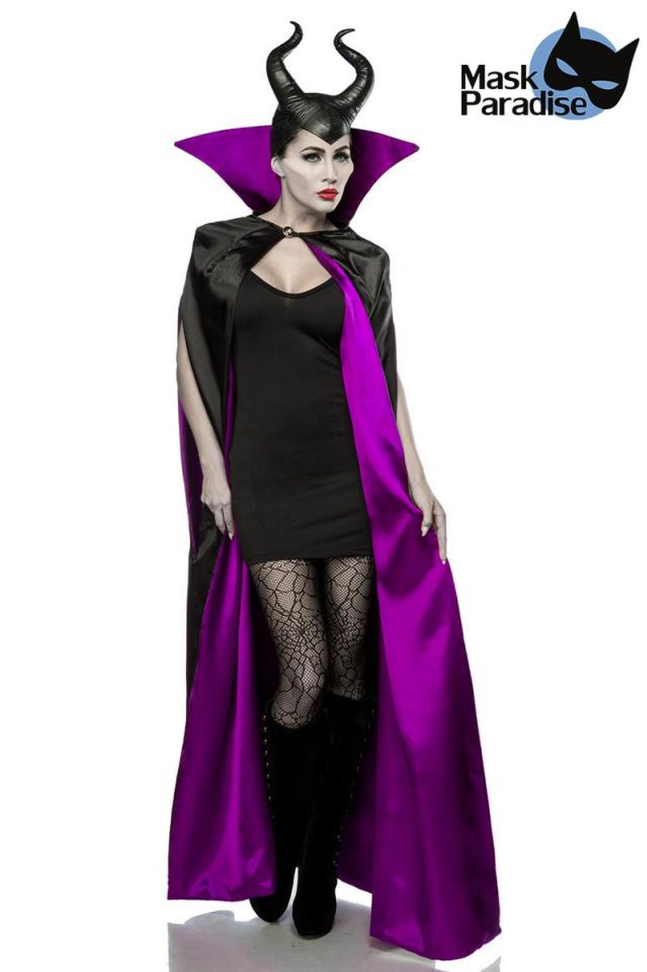 Mask Paradise Malevolent Fairy - schwarz/lila