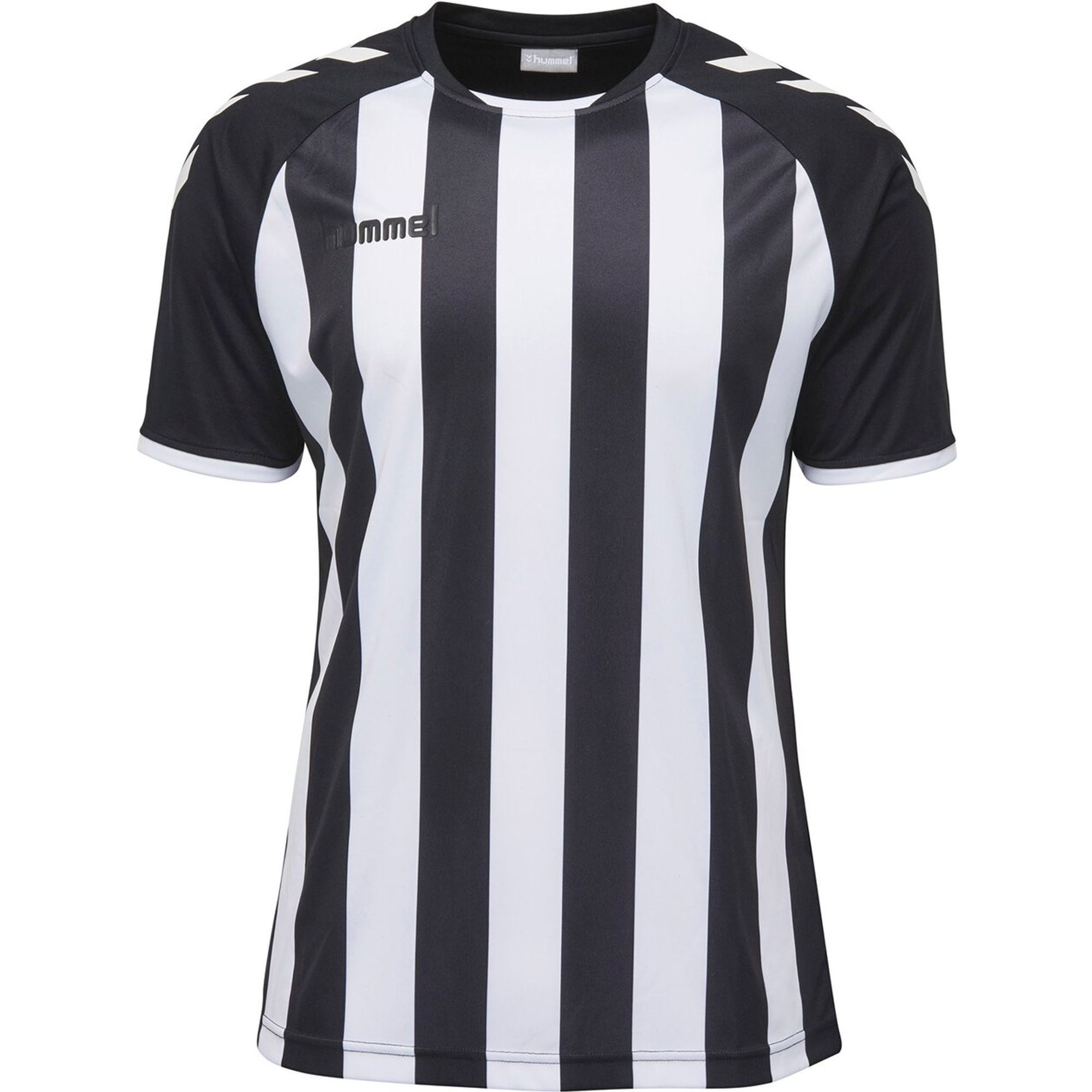 Hummel Core Striped Ss Jersey - black/white