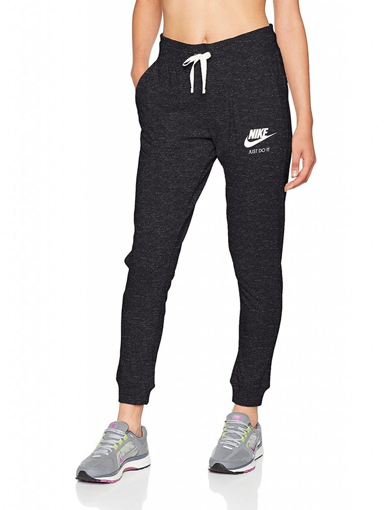 Nike W Nsw Gym Vntg Pant - black/sail