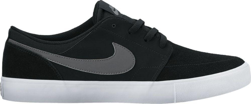 Nike Nike Sb Portmore Ii Solar - black/dark grey-white