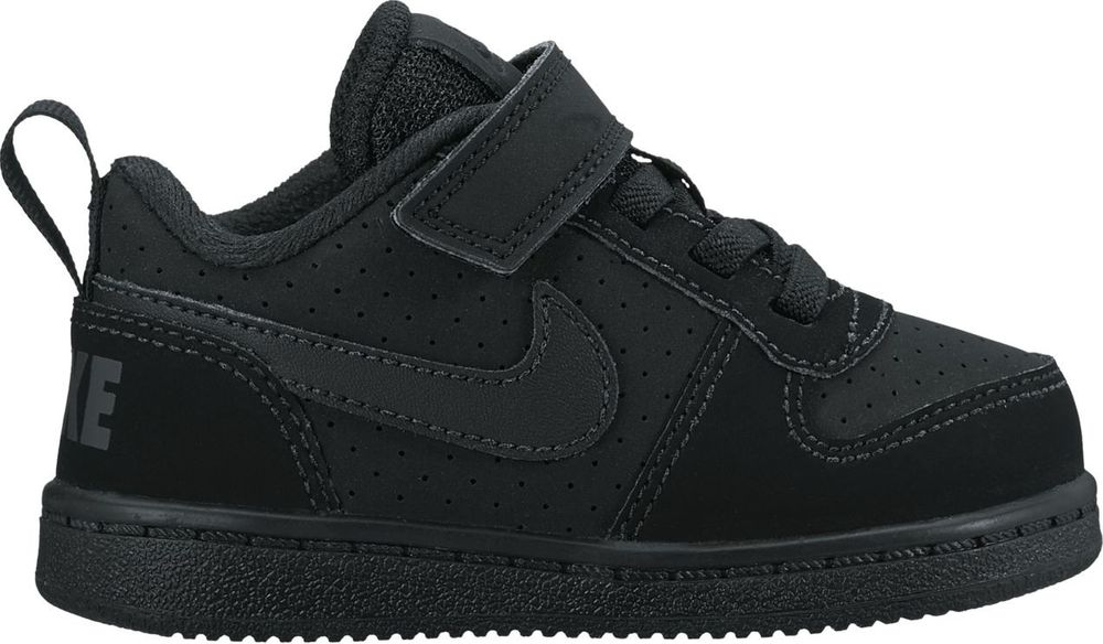 Nike Nike Court Borough Low (Tdv) - black/black