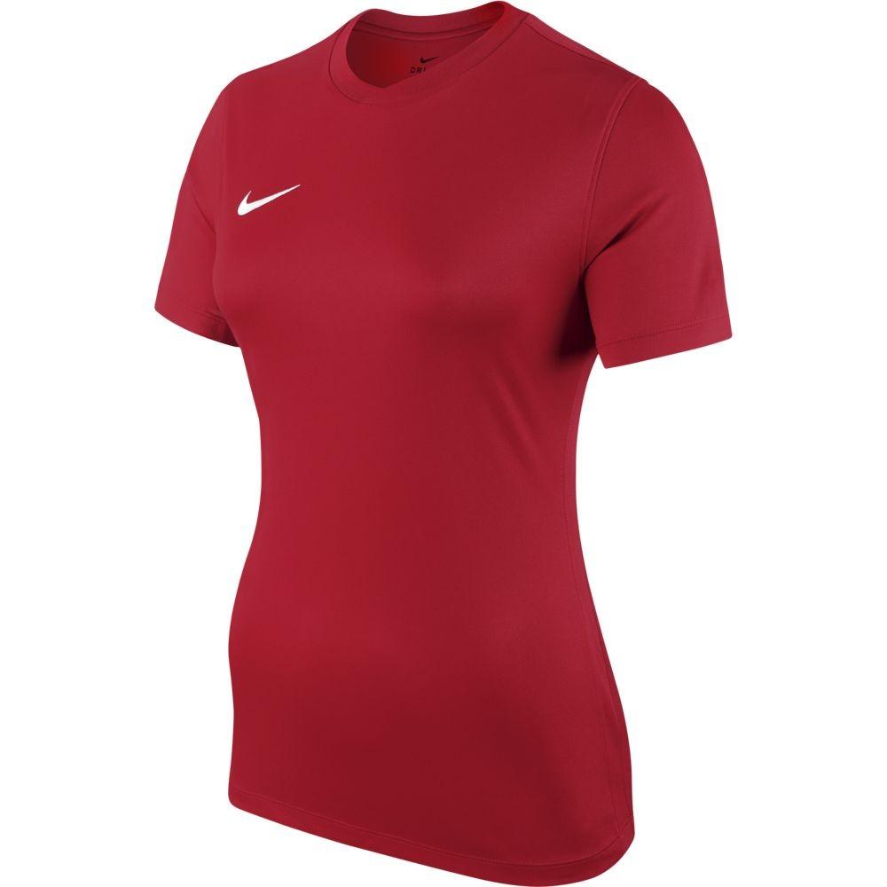 Nike W Nk Dry Park Vi Jsy Ss - university red/white