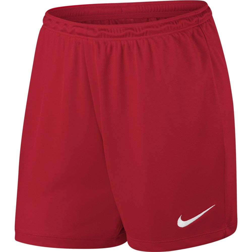 Nike W Nk Dry Park Ii Short Nb K - university red/white