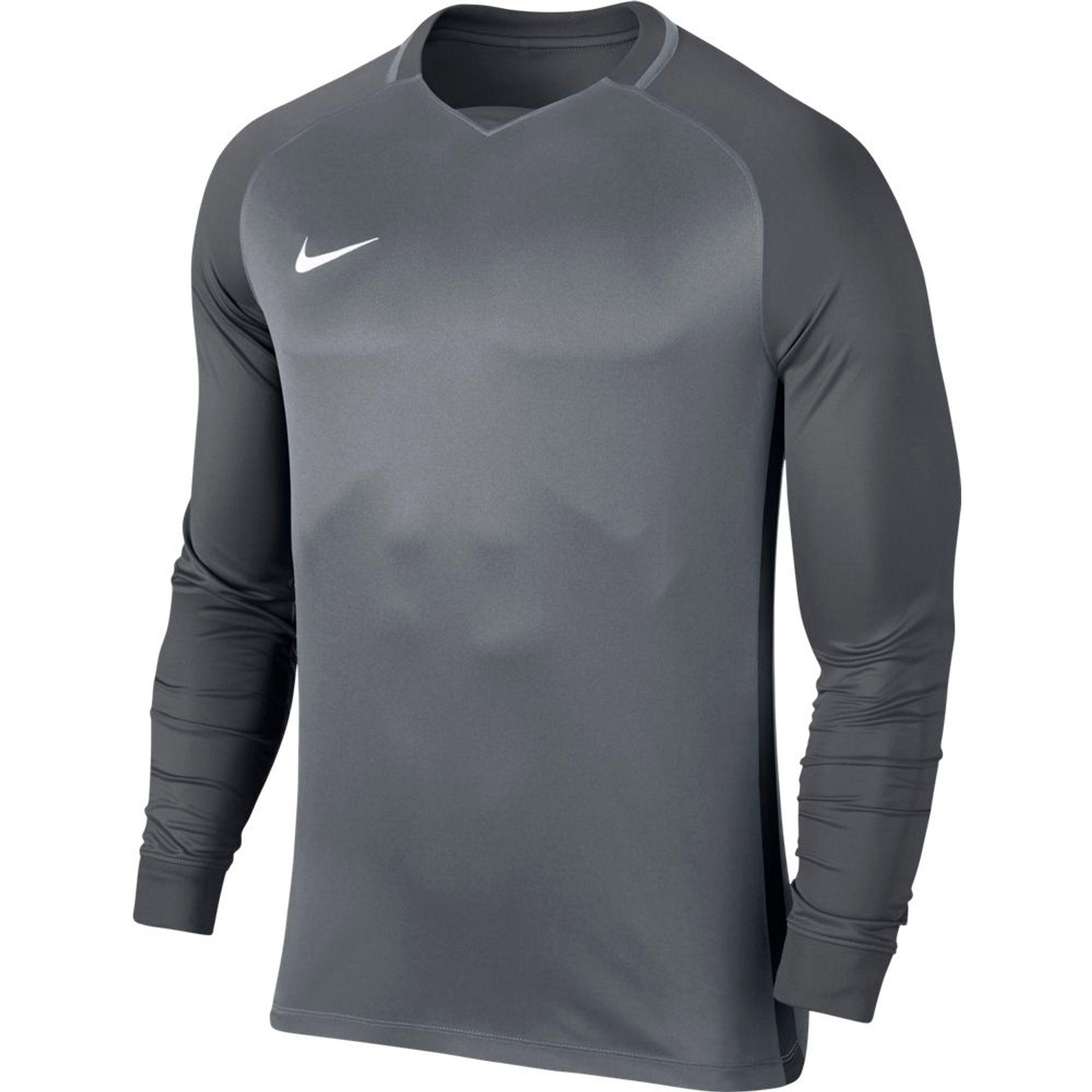 Nike M Nk Dry Trophy Iii Jsy Ls - cool grey/dark grey/dark grey/