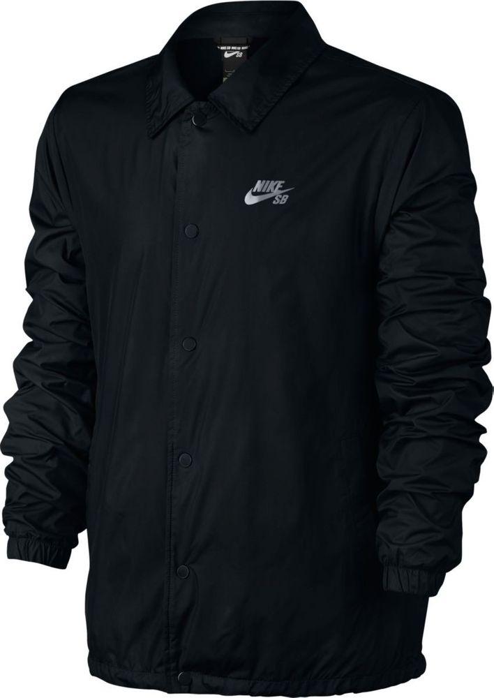 Nike M Nk Sb Shld Jkt Coaches - black/cool grey