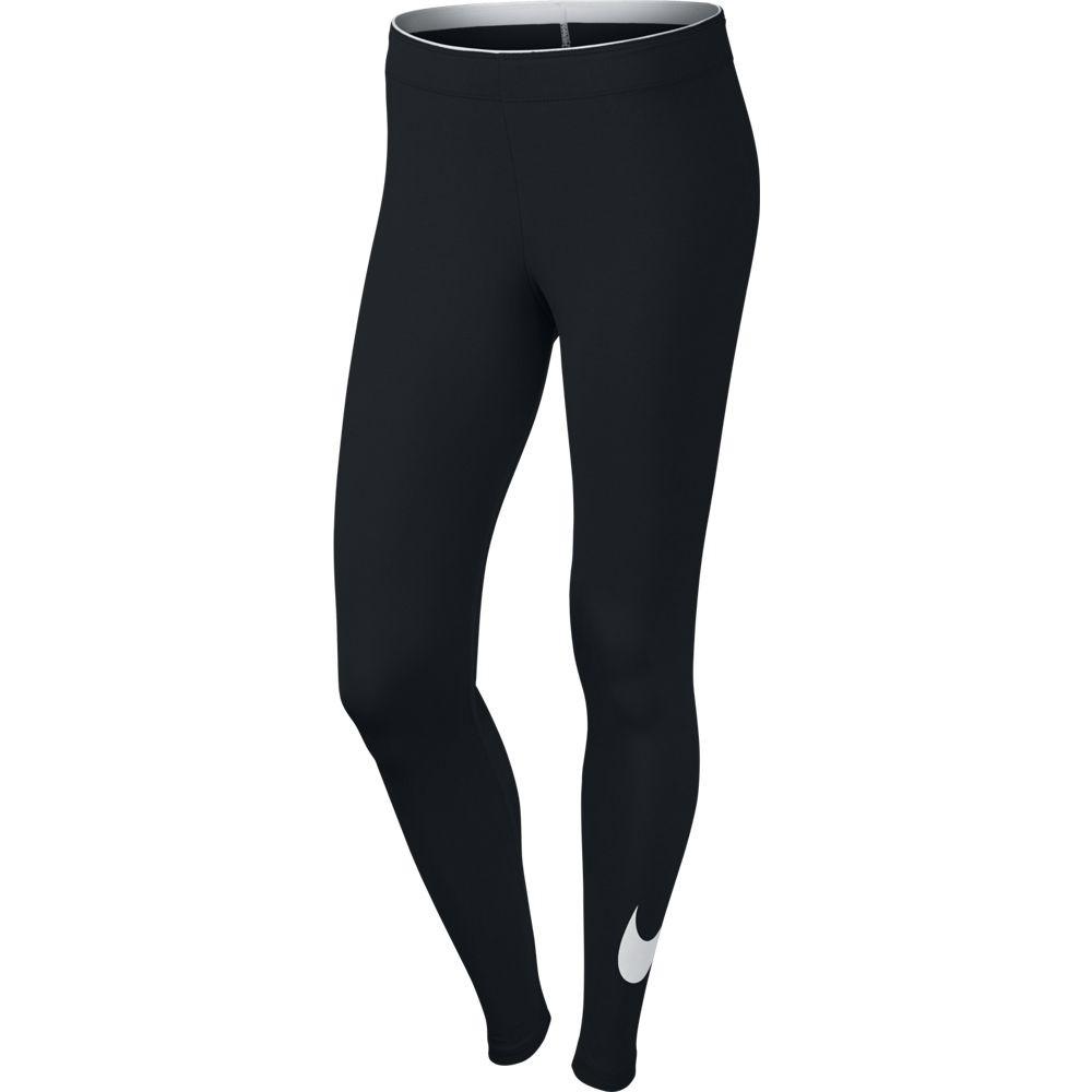 Nike Nike Club Legging-Logo 2 - black/white
