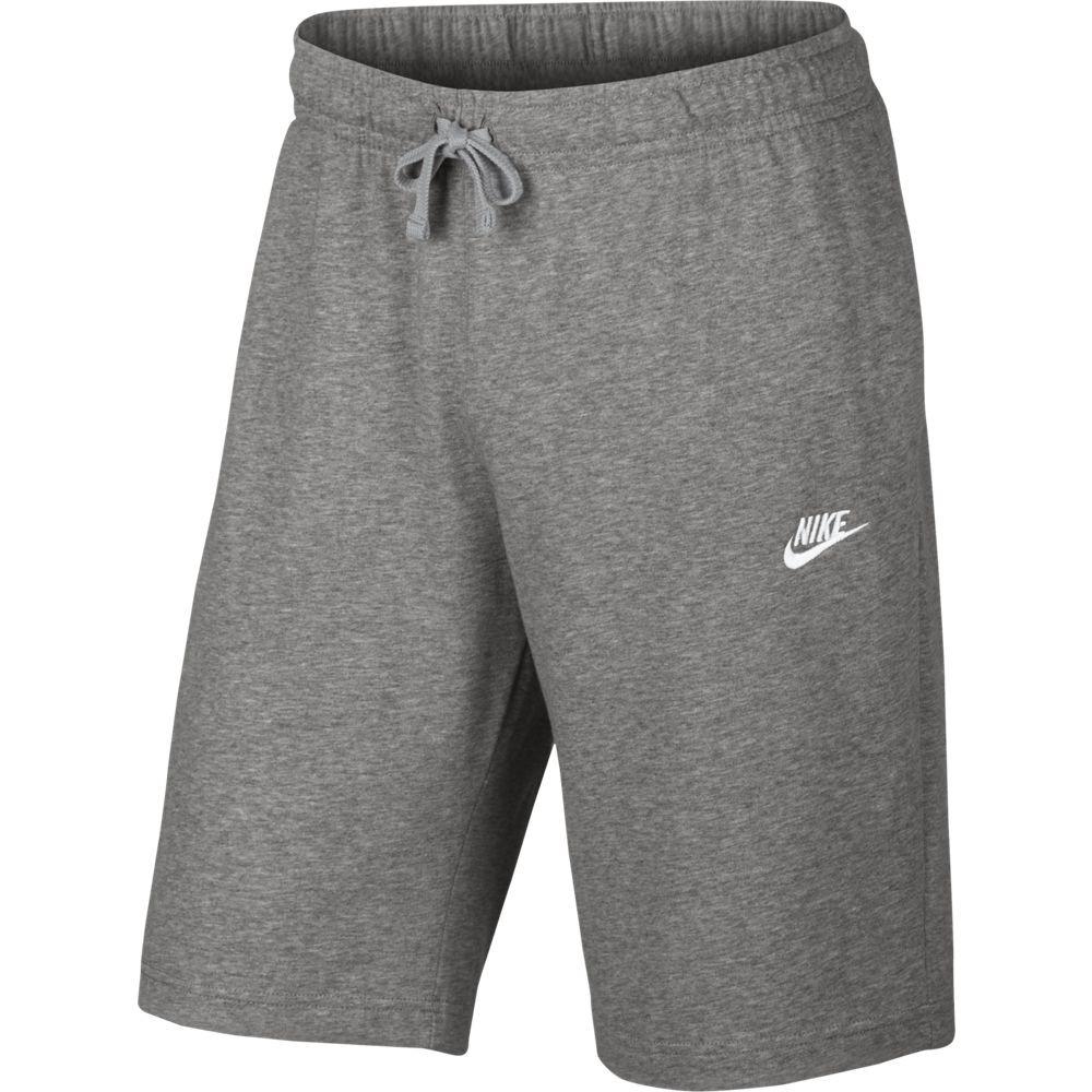 Nike M Nsw Short Jsy Club - dk grey heather/white – Bild 1