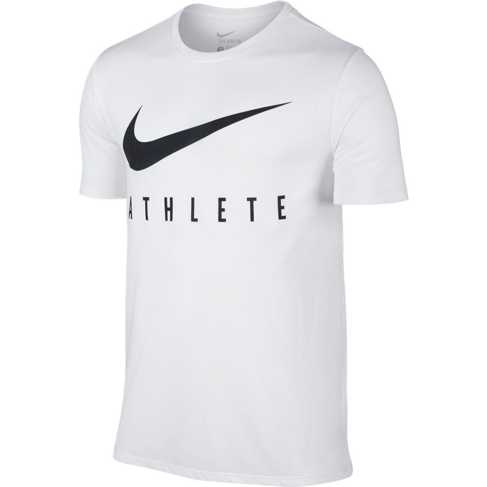 Nike M Nk Dry Tee Db Athlete - white/white/black