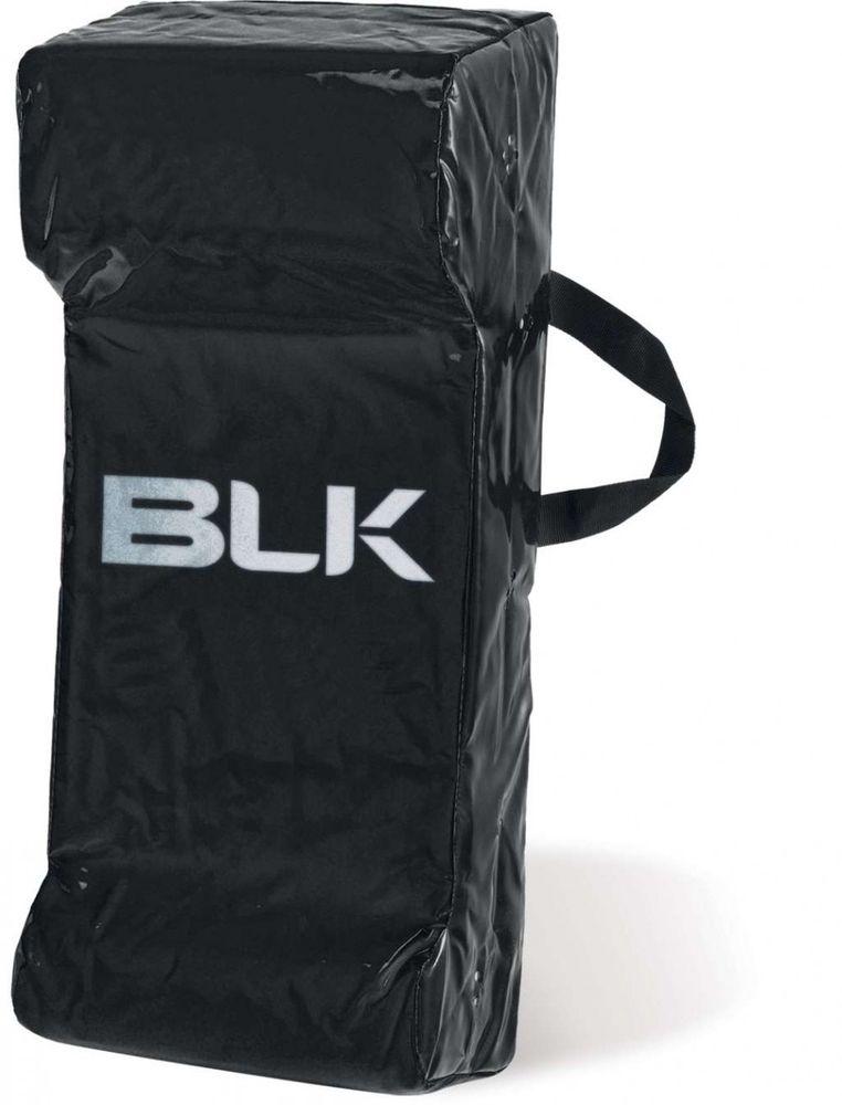 BLK Rugby TACKLE BAG JUNIOR - schwarz/gelb