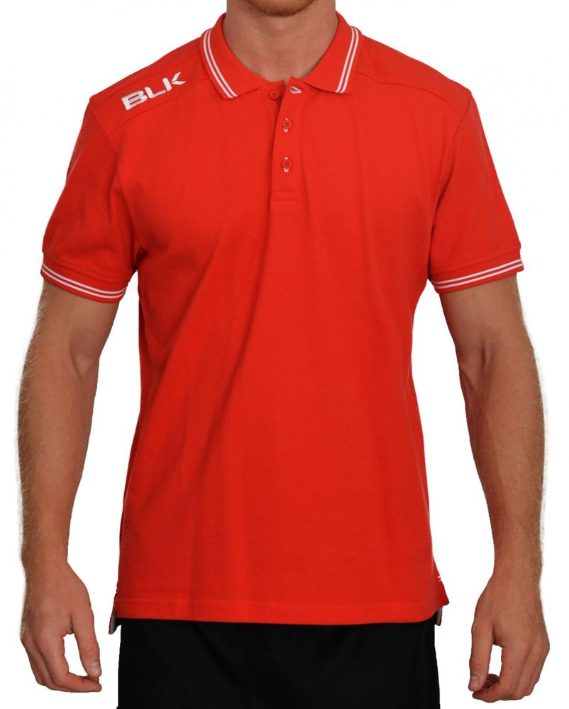 BLK Rugby POLO - rot/weiß