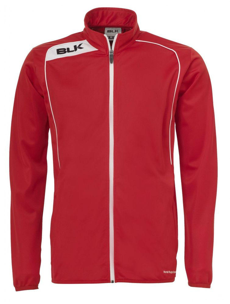 BLK Rugby TRACKSUIT JACKET - rot/weiß