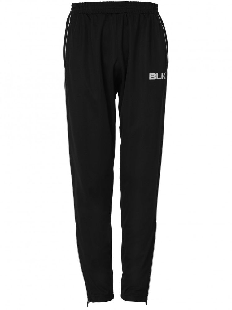 BLK Rugby TRACKSUIT PANT - schwarz/weiß