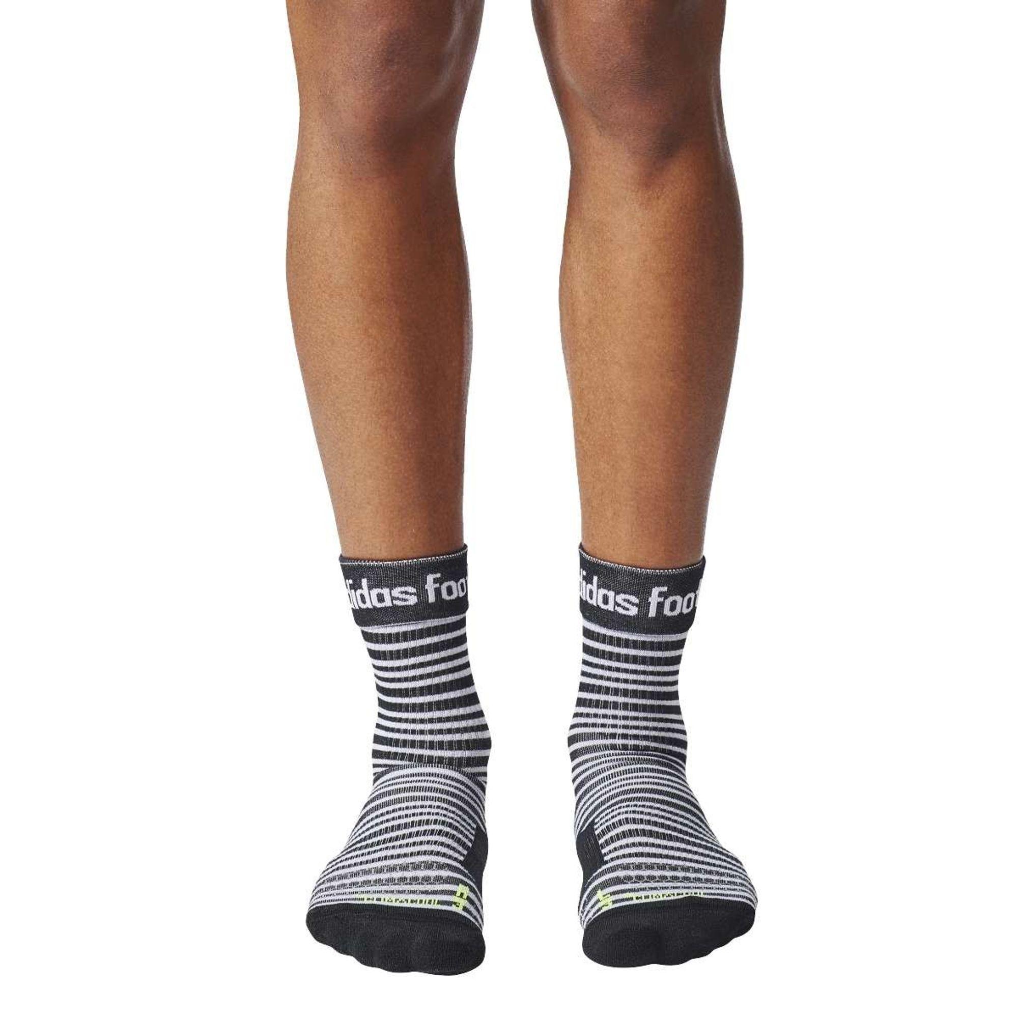 adidas Fi Socks - white/black/syello