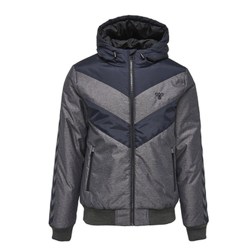 Hummel Icon Melange Jacket Aw17 - black/blue