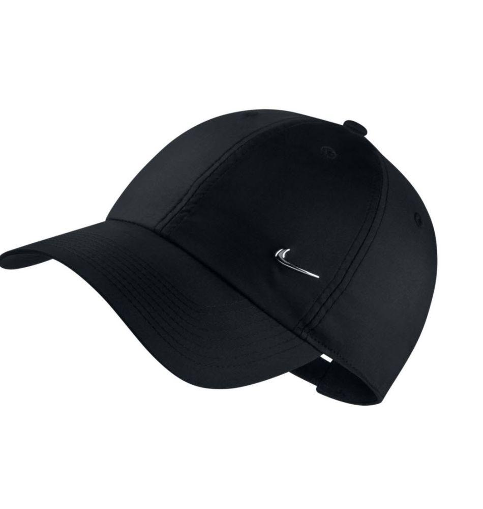 Nike Unisex Nike Sportswear Heritage86 Cap-Kappe - black/metallic silver