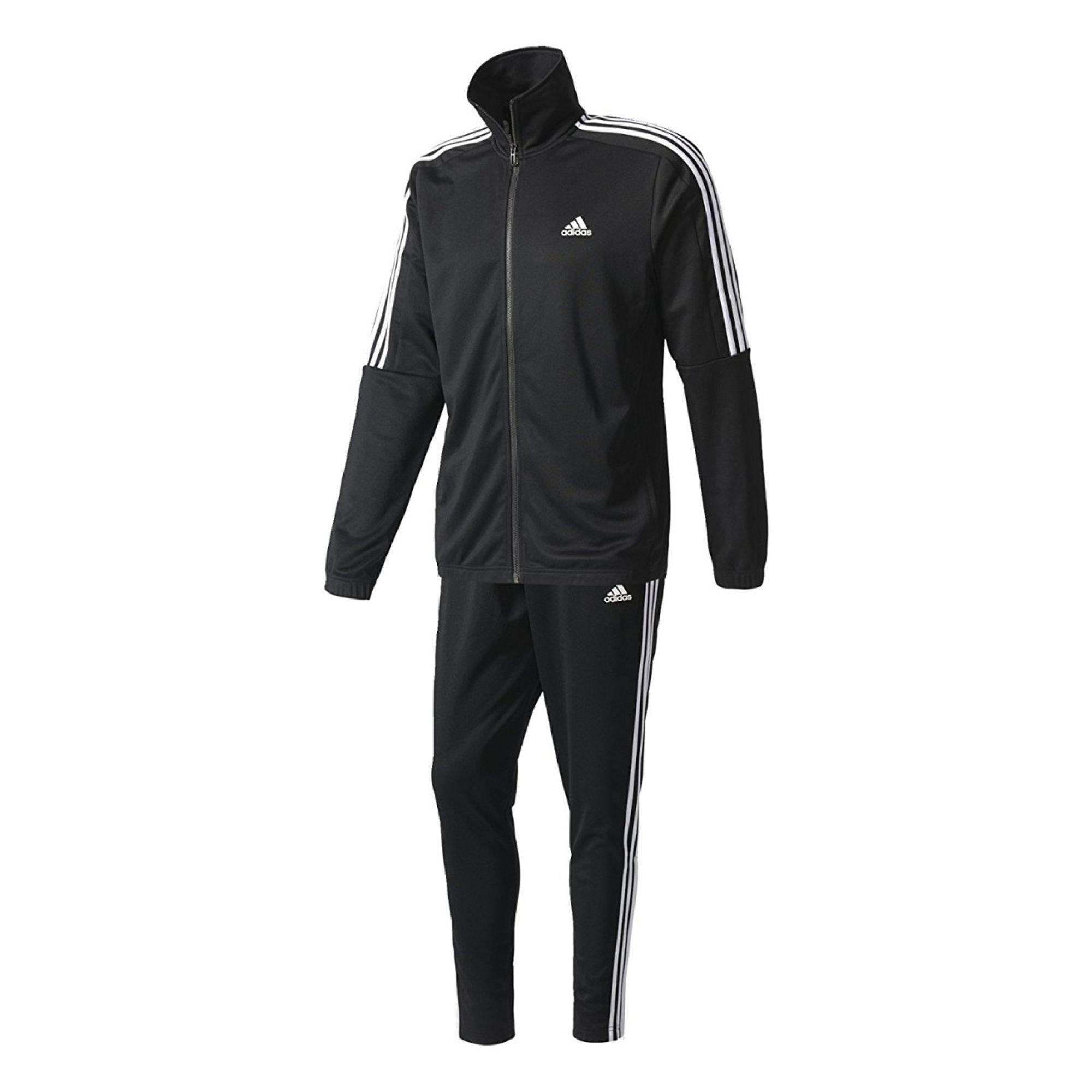 adidas  TIRO TS Sportanzüge-Herren - black/white