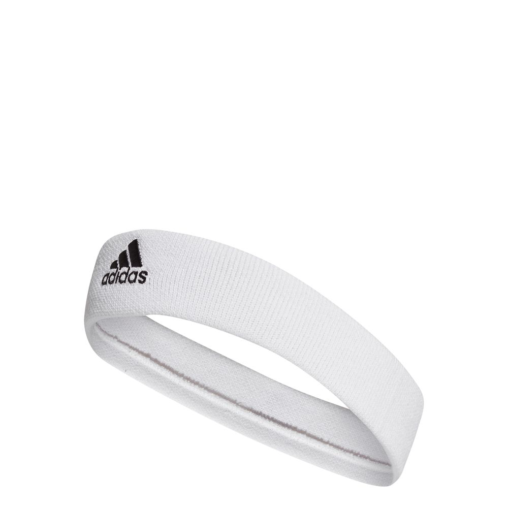 adidas TENNIS HEADBAND - white/black