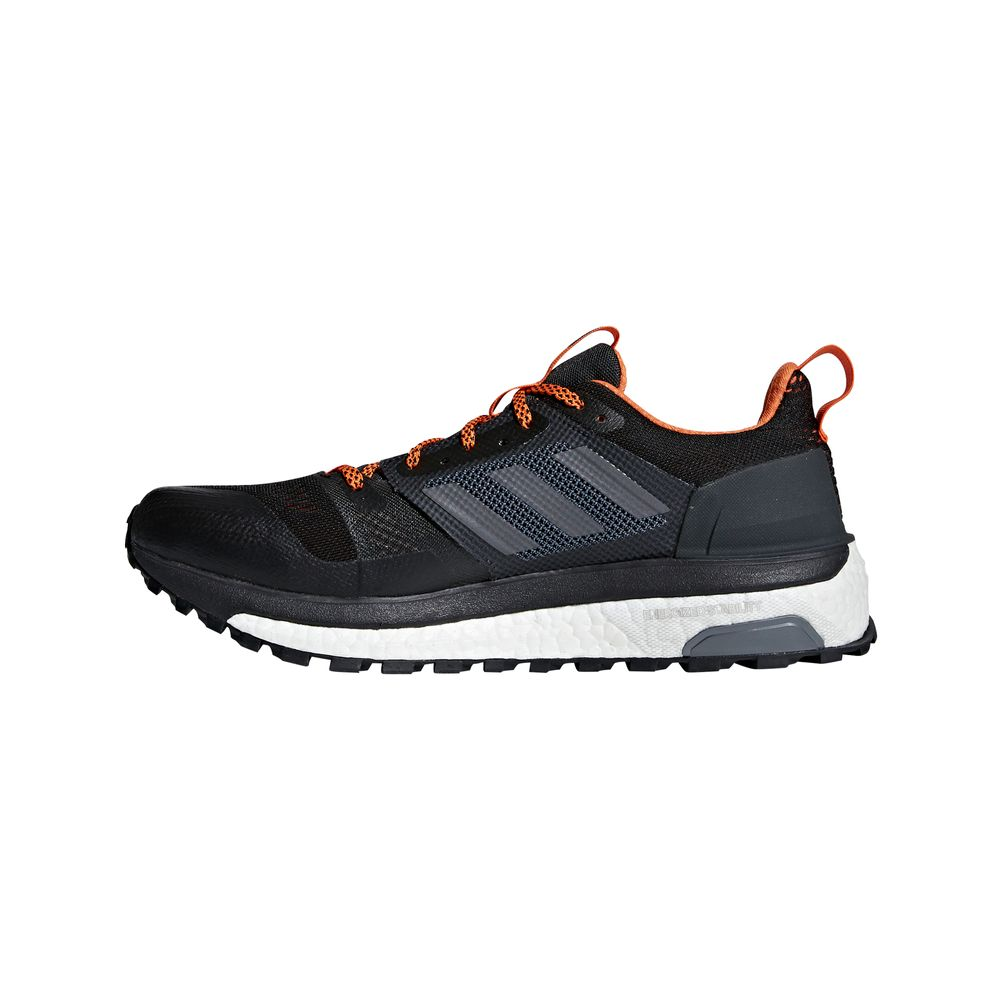 adidas Supernova Trail M - carbon/cblack/orange