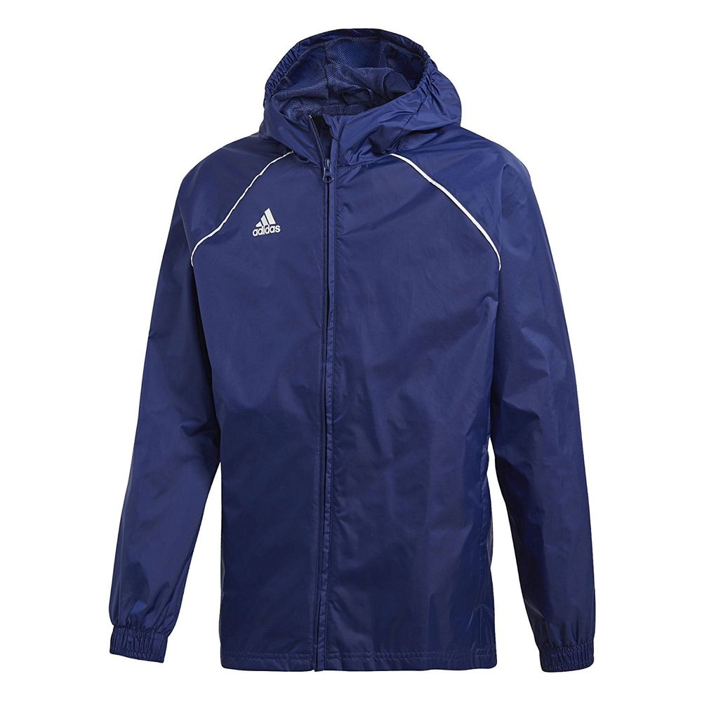 adidas Core18 Rn Jkt Y - dkblue/white