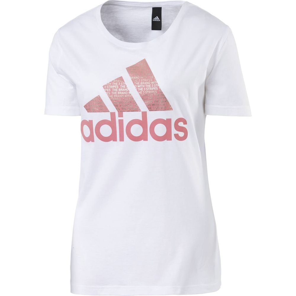 ADIDAS Damen Shirt FOIL TEXT BOS