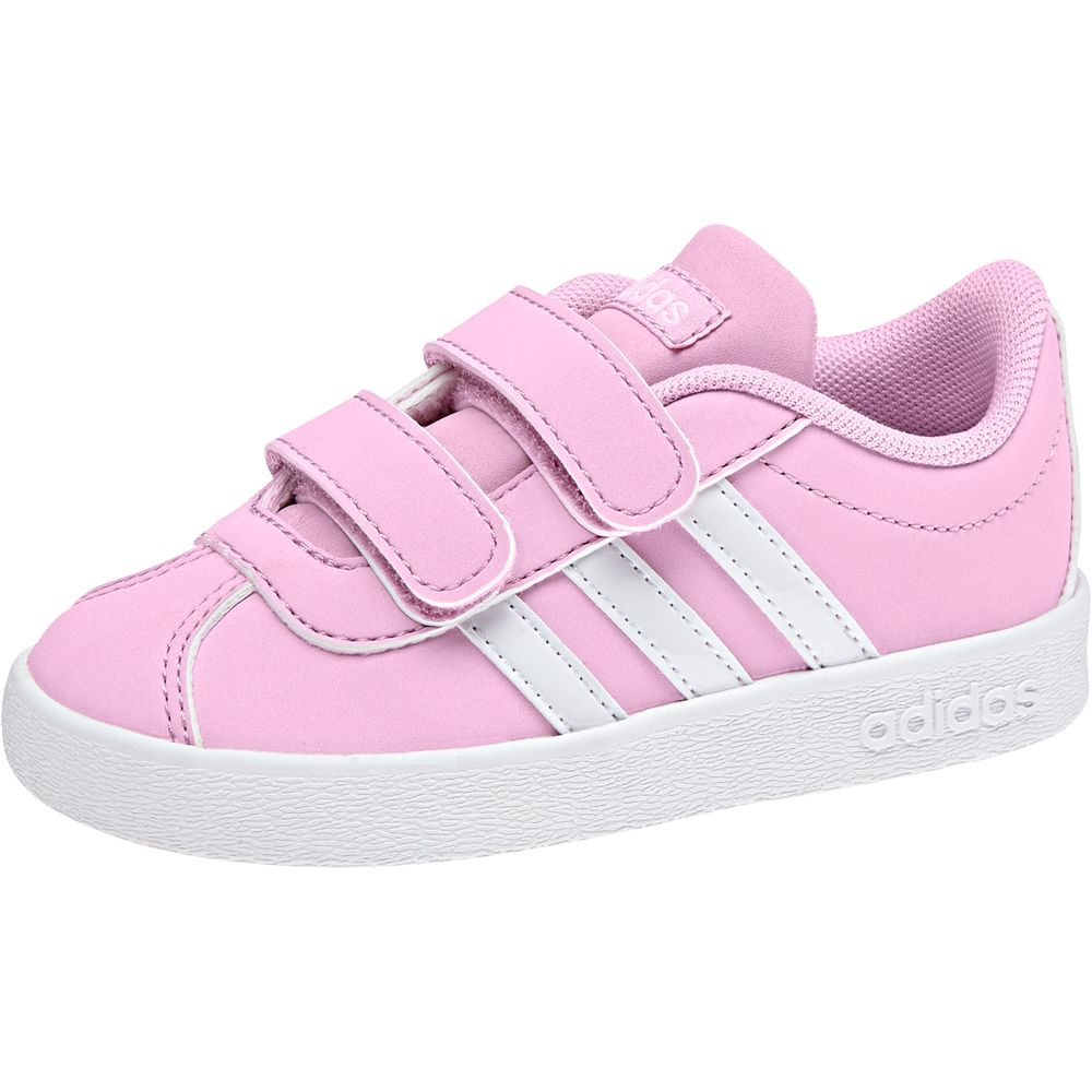 adidas Vl Court 2.0 Cmf I - fropnk/ftwwht/gretwo