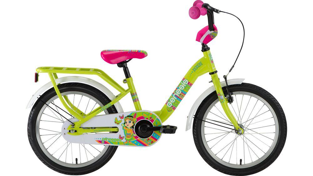 GENESIS Kleinkinderfahrrad Fahrrad Princessa 18