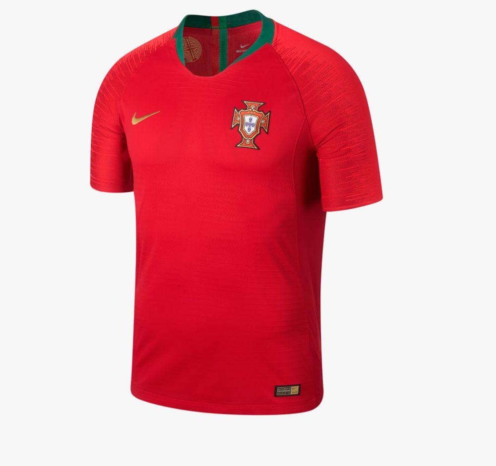 Nike Herren Portugal-Trikot Home WM 2018 Teamtrikot, Gym Red