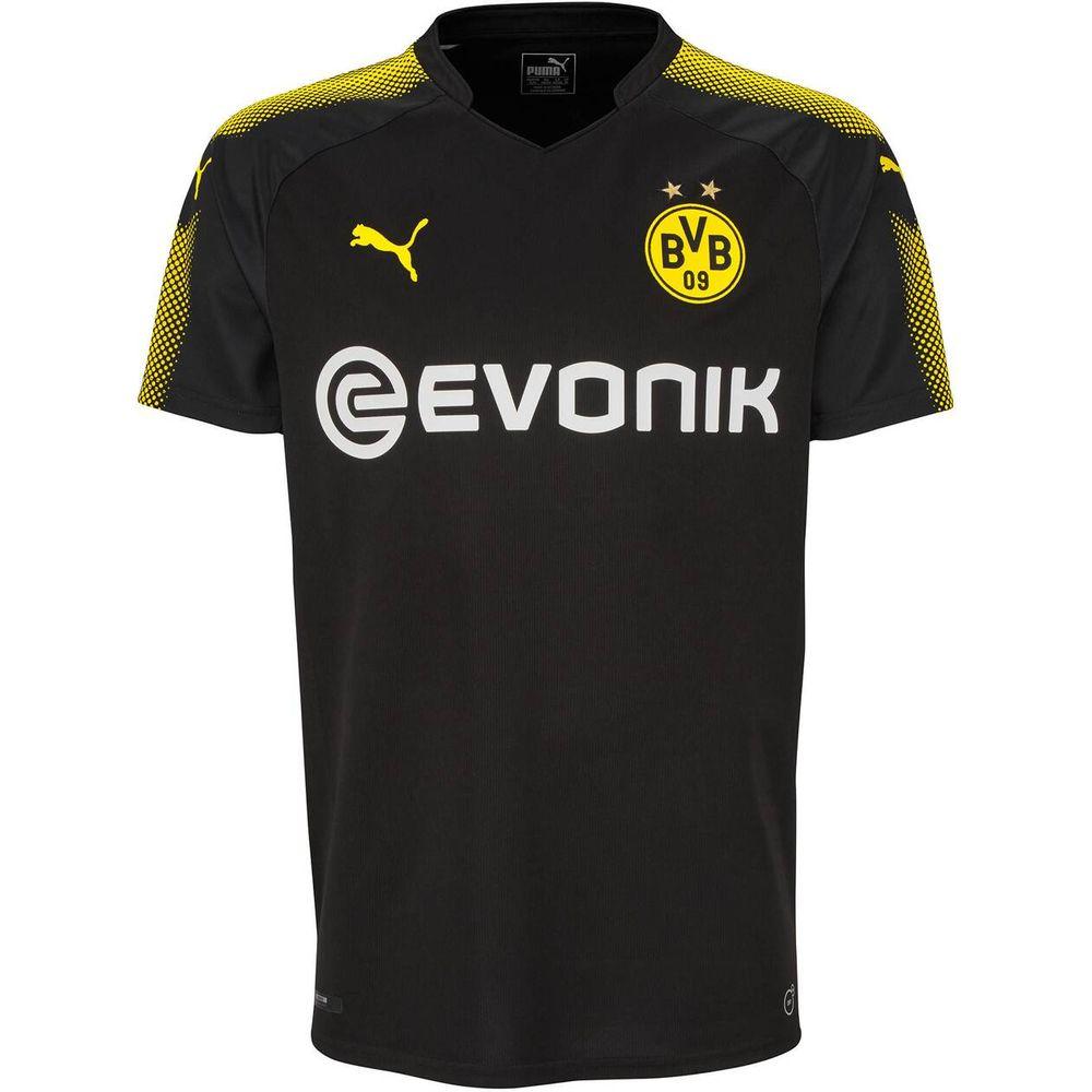 Puma Herren Fußballshirt Borussia Dortmund Away Shirt Replica 17/18 Kurzarm