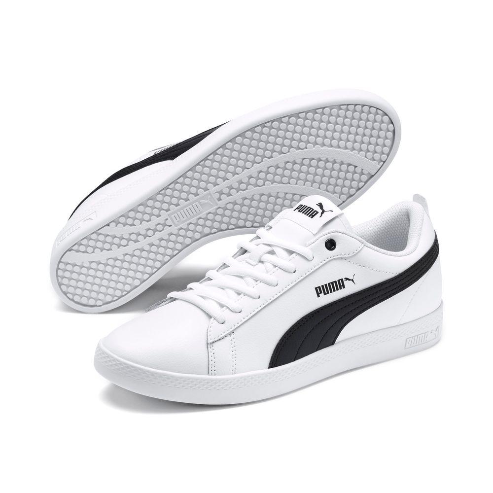 Puma Smash Wns v2 L - puma white-puma black
