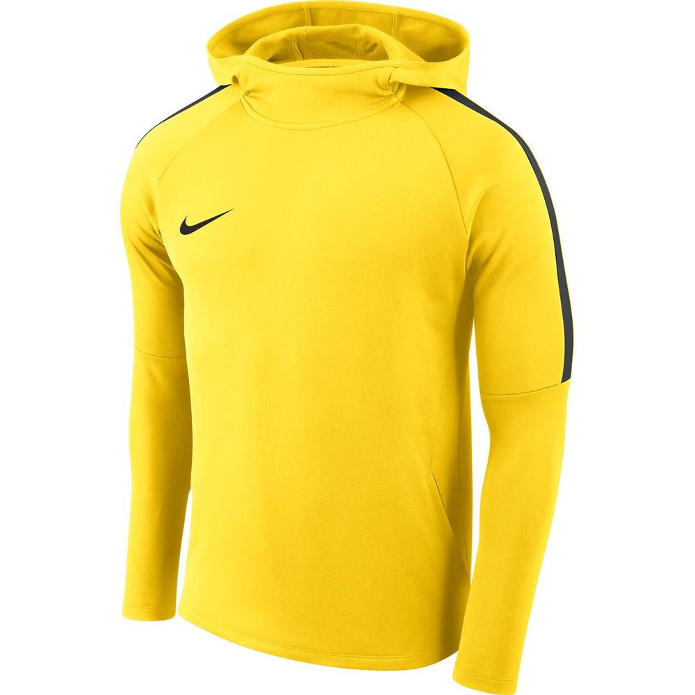 Nike M Nk Dry Acdmy18 Hoodie Po - tour yellow/anthracite/anthrac