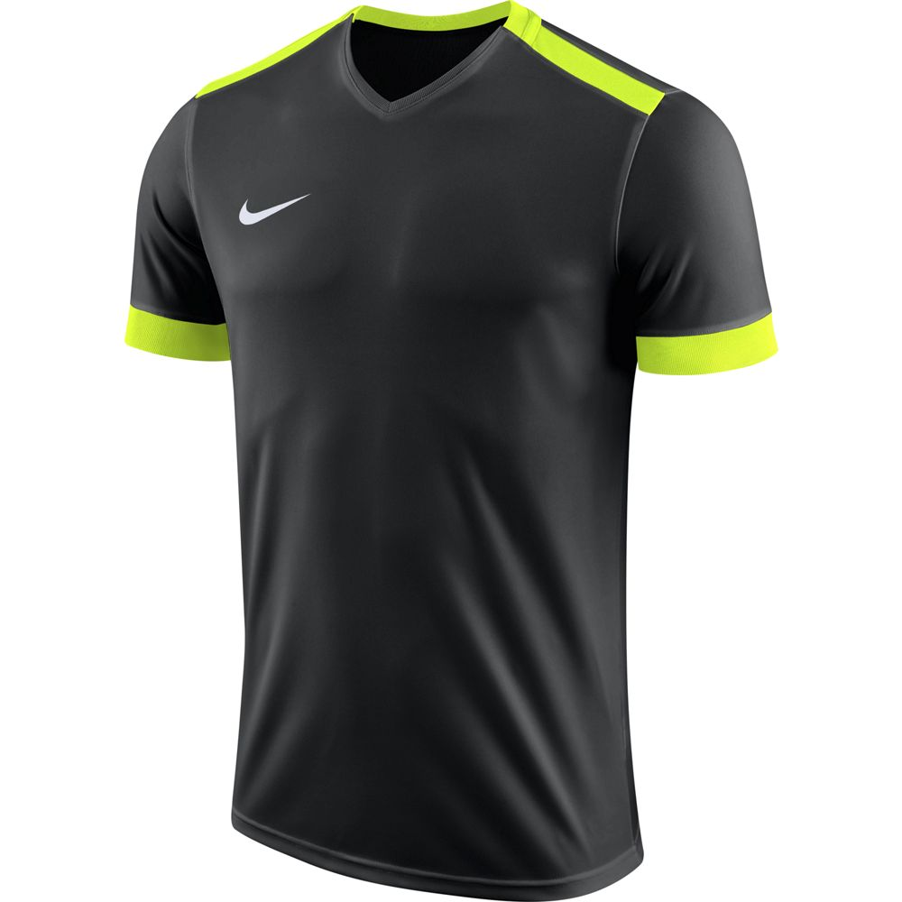 Nike Y Nk Dry Prk Drby Ii Jsy Ss - black/volt/volt/white