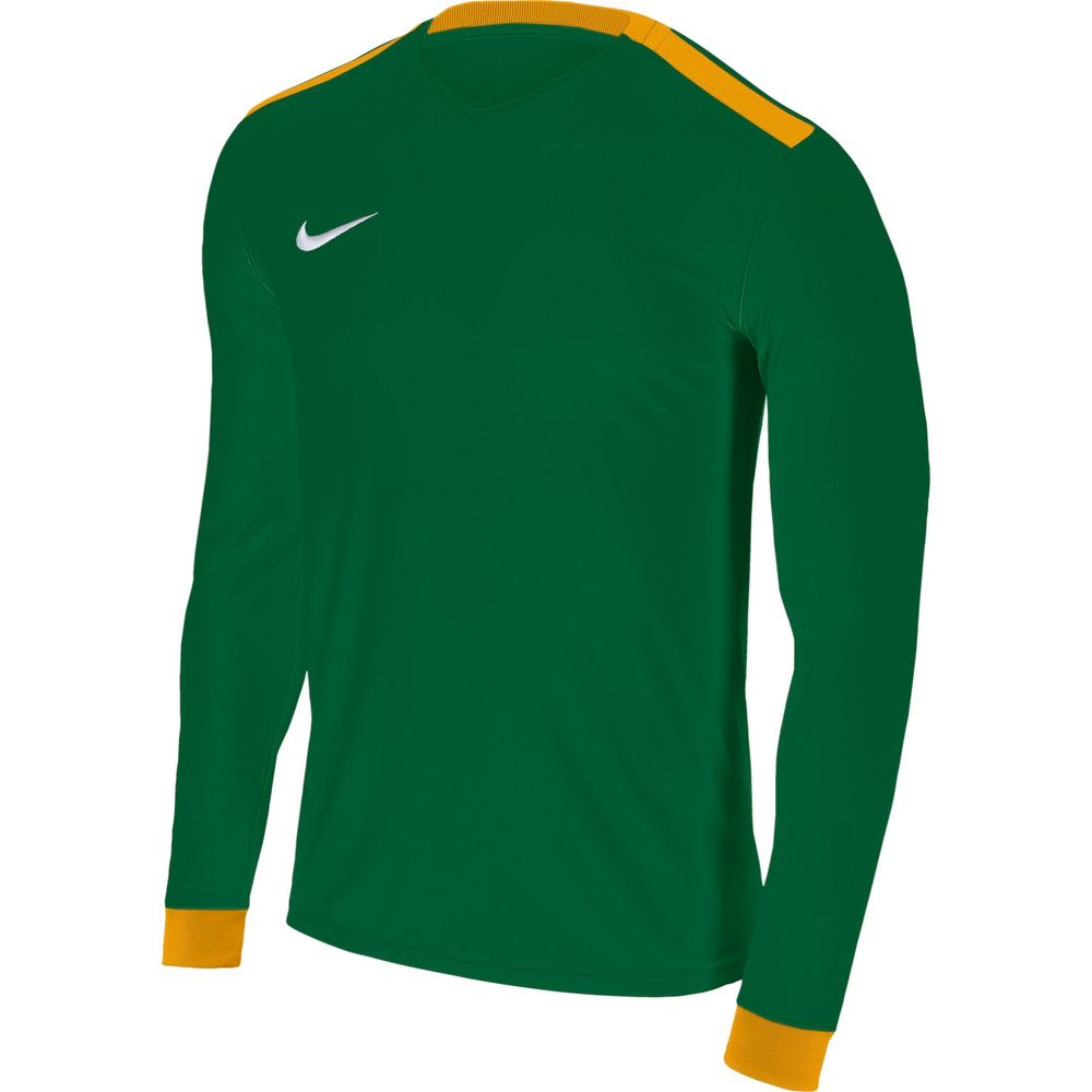 Nike M Nk Dry Prk Drby Ii Jsy Ls - pine green/university gold/whi